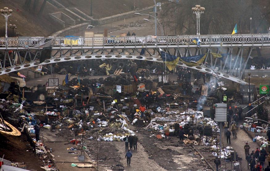 Ουκρανία: Για συμφωνία με την αντιπολίτευση κάνει λόγο ο Γιανουκόβιτς