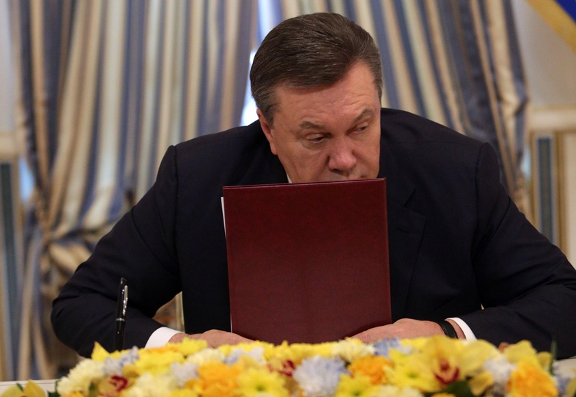 «Γιανουκόβιτς παραιτήσου»!