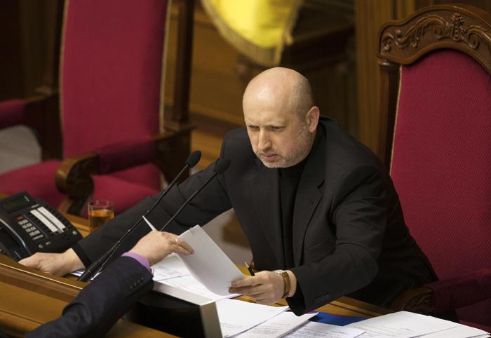 Ορίστηκε ο μεταβατικός πρόεδρος της Ουκρανίας