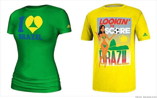 Τα T-shirt της Adidas για το Μουντιάλ «σκανδαλίζουν» τη Βραζιλία