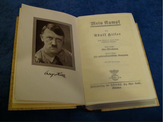 Έναντι 64.850 δολ. πωλήθηκε «Ο Αγών μου» με υπογραφή Χίτλερ