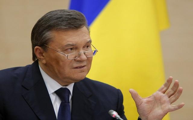 Ευθύνες στο Κίεβο για την Κριμαία ρίχνει ο Γιανουκόβιτς