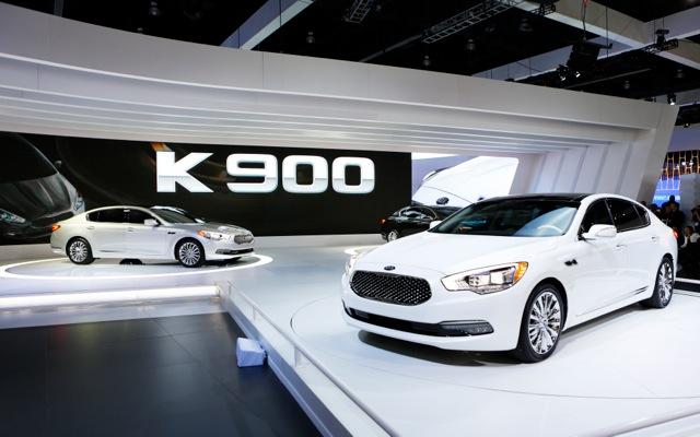 Αμάξι πολυτελείας από την Kia Motors