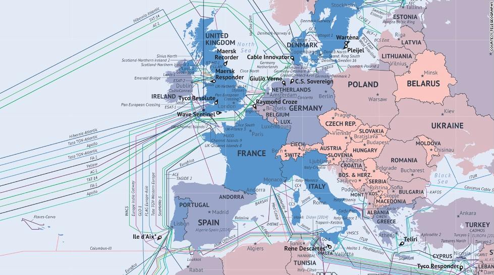 Η παγκόσμια ανατομία του ίντερνετ