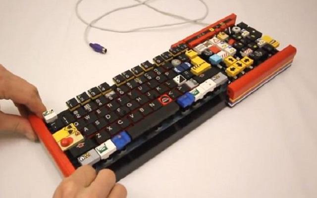 Κατασκευάστε πληκτρολόγια από Lego