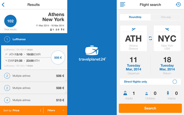 Νέο Mobile App από την Travelplanet24