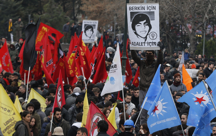 Ερντογάν κατά διαδηλωτών