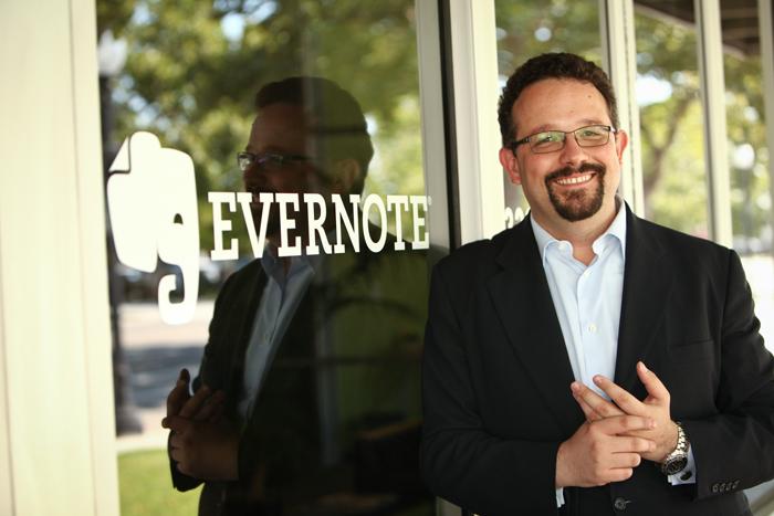 Το σεμνό αφεντικό της Evernote