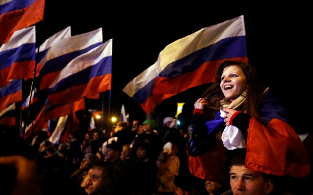 Κριμαία: Με 95,5% το «ΝΑΙ» στην ένωση με τη Ρωσία