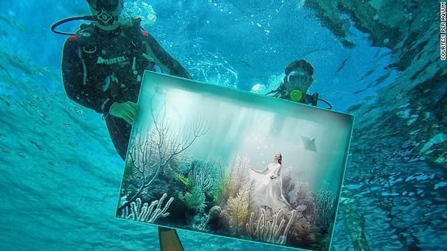 Μια έκθεση τέχνης στο βάθος του Ινδικού Ωκεανού