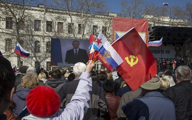 Διεθνείς αντιδράσεις στην ομιλία Πούτιν και την ένωση Κριμαίας-Ρωσίας