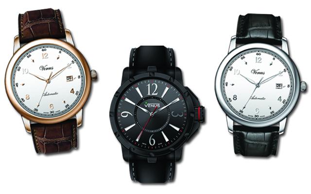 Τα νέα ρολόγια της VENUS συνδυάζουν παράδοση και κομψότητα