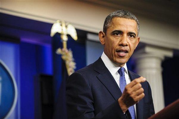 Μπαράκ Ομπάμα: «Δεν θα επέμβουμε στρατιωτικά στην Ουκρανία»