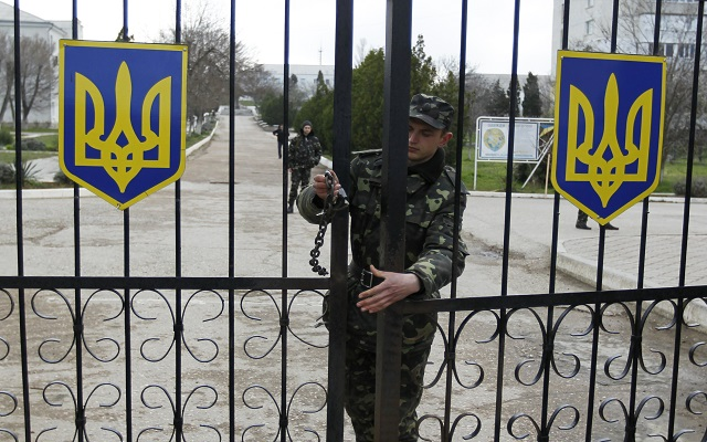 Επεισοδιακή η υποχώρηση των Ουκρανών από την Κριμαία