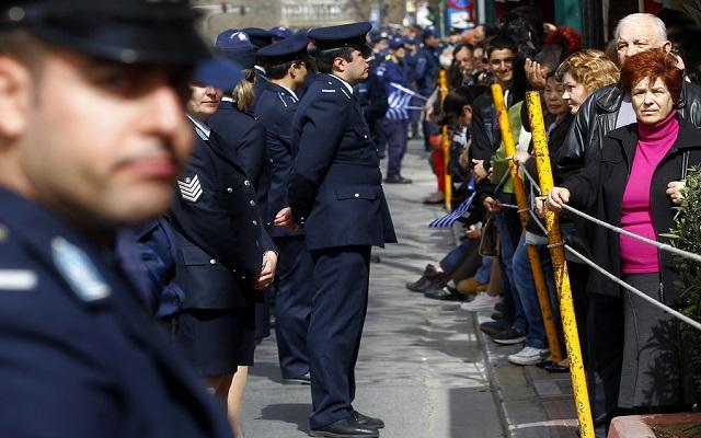 «Δρακόντεια» μέτρα ασφαλείας για την παρέλαση της 25ης Μαρτίου