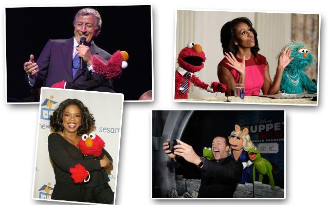 Οι διάσημοι φίλοι του «The Muppet Show»