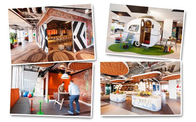 Δείτε τα νέα εντυπωσιακά γραφεία της Google
