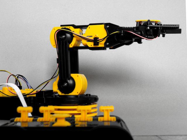 Μια γραμματοσειρά φτιαγμένη από ρομπότ