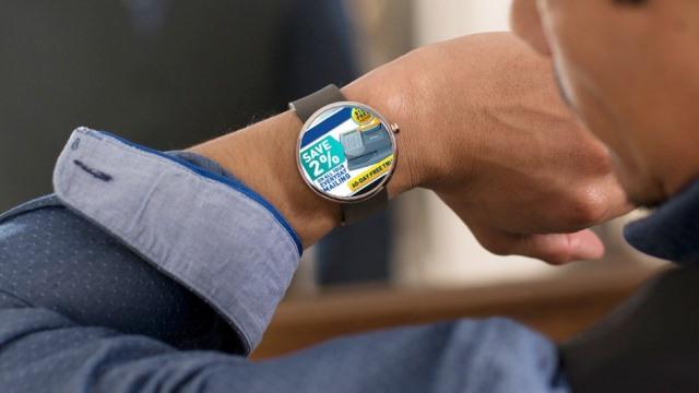 Είναι τα έξυπνα» ρολόγια το μέλλον της διαφήμισης;