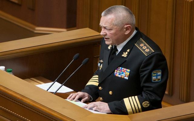Παραίτηση του Ουκρανού υπουργού Άμυνας
