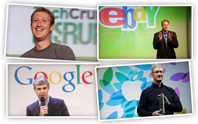 Οι δέκα κορυφαίοι CEOs τεχνολογικών εταιρειών στον κόσμο