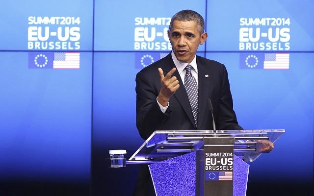 Ομπάμα: «Οι ΗΠΑ και η Ευρώπη είναι ενωμένες, η Ρωσία είναι μόνη της»