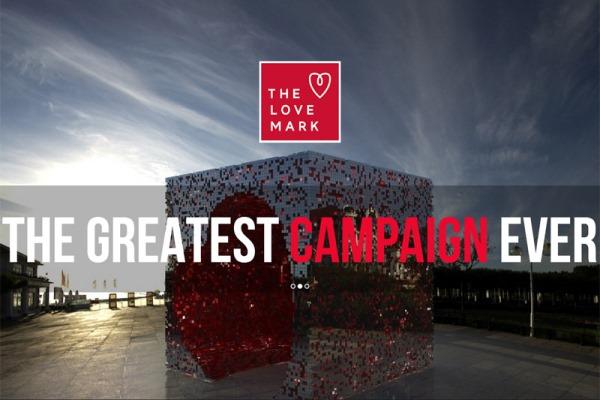 Lovemark: Ένα μνημείο για την αγάπη