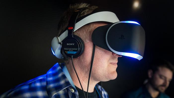 Η Sony ορίζει την εικονική πραγματικότητα