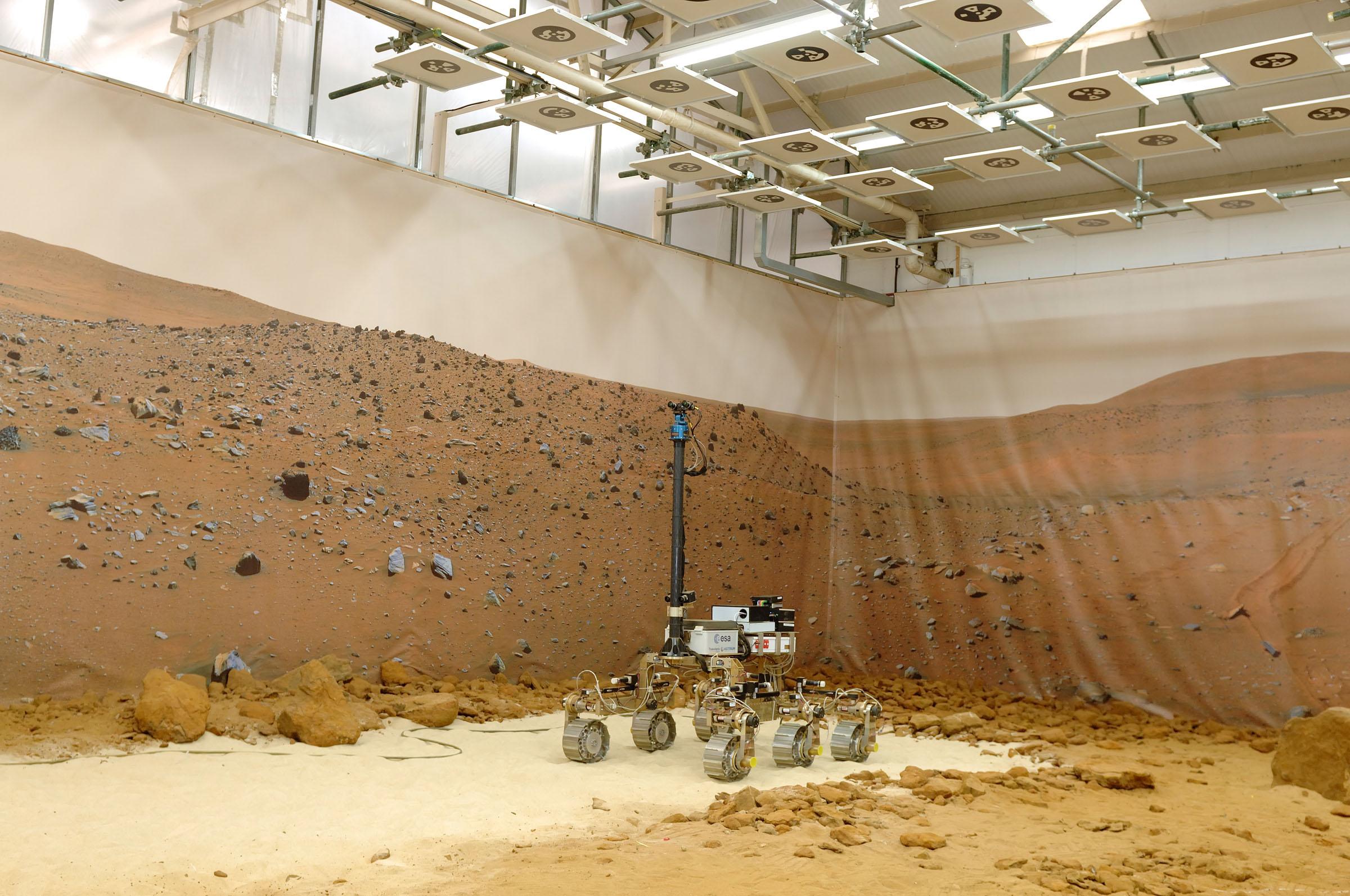 Βίντεο: H «αυλή» του Άρη στη Γη
