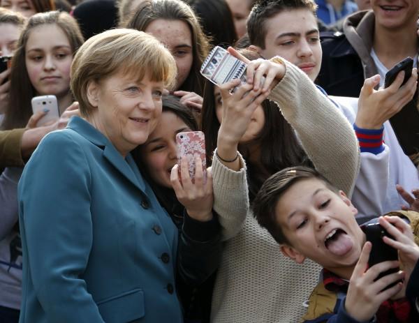 Τα «selfies» της Άνγκελα Μέρκελ