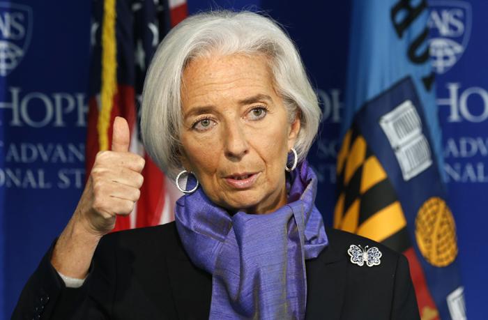 Κριστίν Λαγκάρντ: «Επιτέλους…ανάπτυξη στην Ελλάδα»