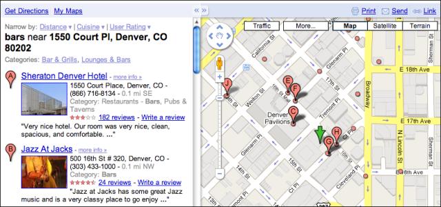 Μίνι οδηγός πόλης από το Google Maps