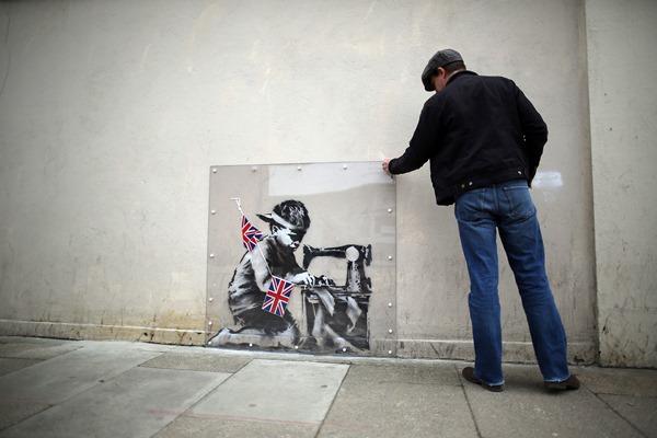 Συνελήφθη ο βανδαλιστής των γκράφιτι του Μπάνκσι