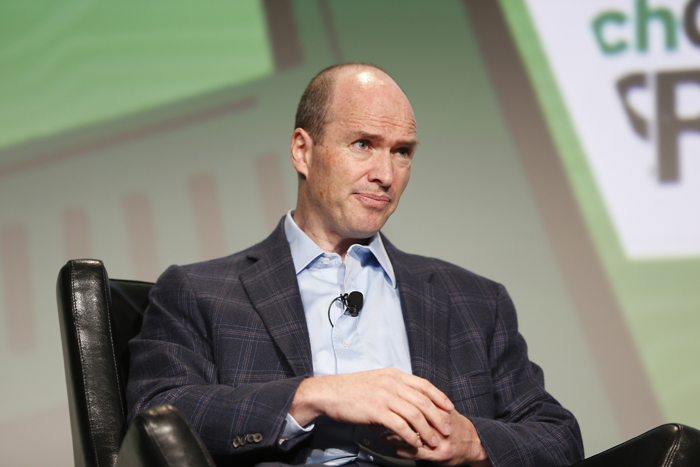 Venture capitalist Ben Horowitz speaks during TechCrunch Disrupt SF 2012 in San Francisco