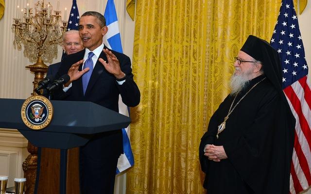 Ομπάμα: «Η Ελλάδα και οι ΗΠΑ στέκονται πλάι-πλάι»