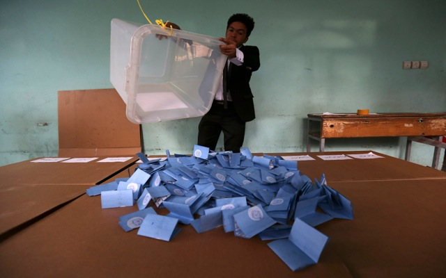 Επιτυχής ο πρώτος κύκλος των εκλογών στο Αφγανιστάν