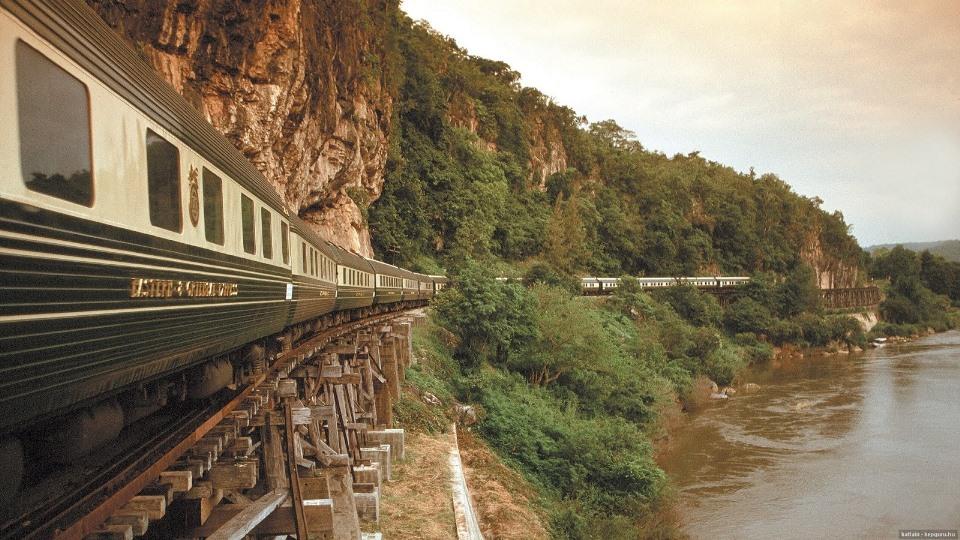 Ο γύρος του κόσμου με ένα τρένο