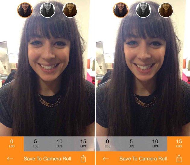 H εφαρμογή για selfies που σας αδυνατίζει!
