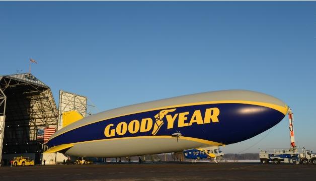 Βίντεο: Στον ουρανό το νέο Zeppelin της Goodyear