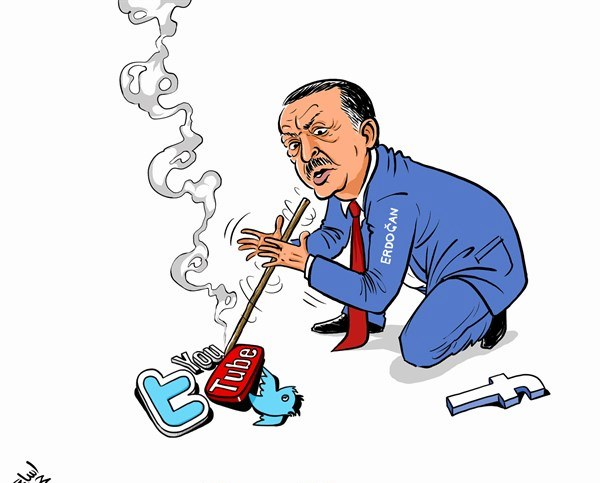 To YouTube «σέρνει» τον Ερντογάν στα δικαστήρια