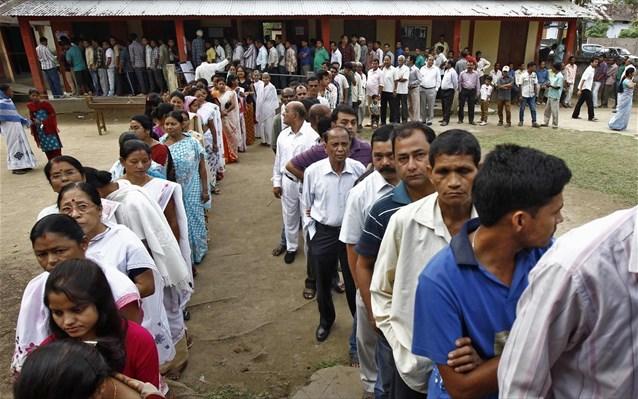 Ινδία: Ξεκίνησε η μεγαλύτερη εκλογική διαδικασία του κόσμου