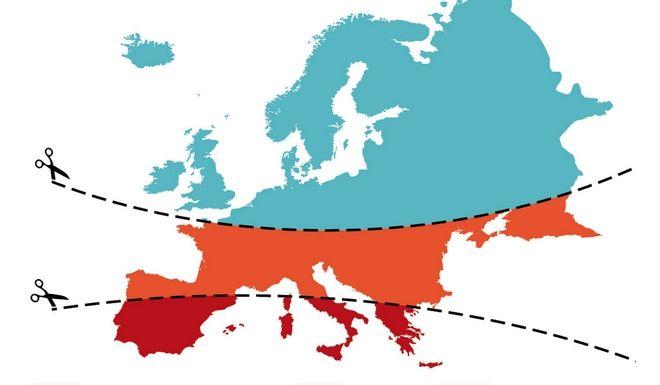 Χάρτης: Τα στερεότυπα «διαλύουν» την Ευρώπη
