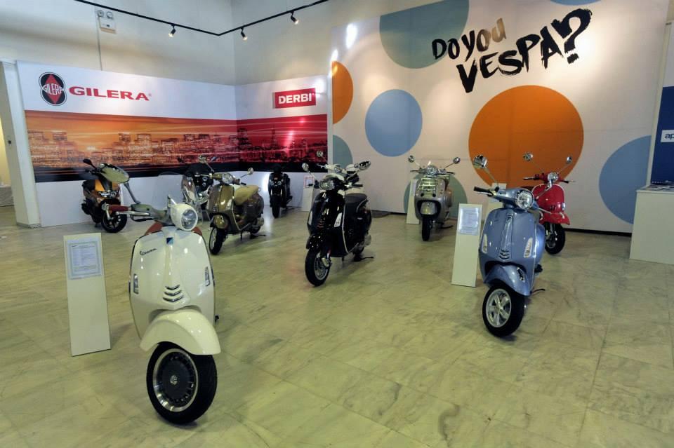 «Λάμψη» της Piaggio στο Scooter Moto Festival