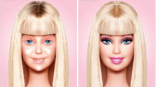 Barbie-without-makeup