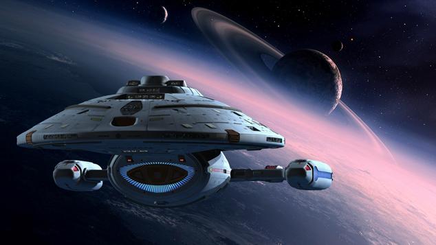 Η γέφυρα του Star Trek: Voyager μπροστά στα μάτια σας