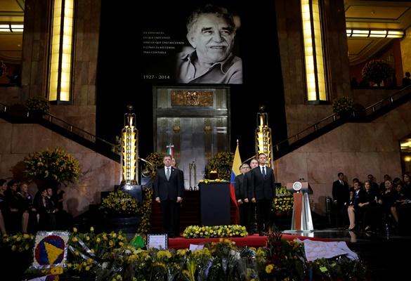 Κολομβία και Μεξικό τιμούν τον Γκαμπριέλ Γκαρσία Μάρκες
