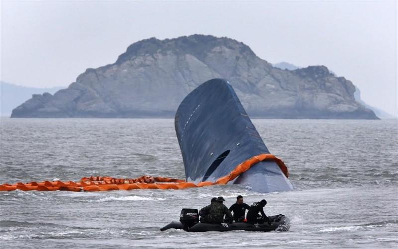 Ν. Κόρεα: Ξεπέρασαν τους 100 οι νεκροί από το ναυάγιο