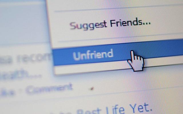 Τop 5 των κατηγοριών χρηστών για «unfriend» στο Facebook