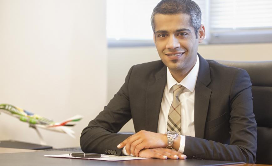 Ο Jaber Mohamed διευθυντής της Emirates σε Ελλάδα και Αλβανία