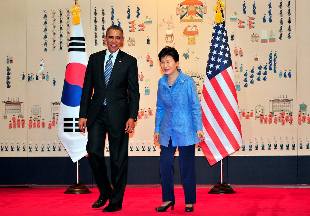 Στη Νότια Κορέα μετά την Ιαπωνία ο Μπάρακ Ομπάμα